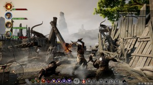 dragon age gameplay
